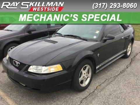Pre-Owned 2000 Ford Mustang 2DR CONV