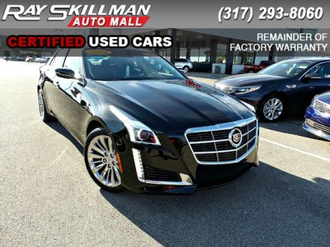 Pre-Owned 2014 Cadillac CTS LUXURY AWD AWD