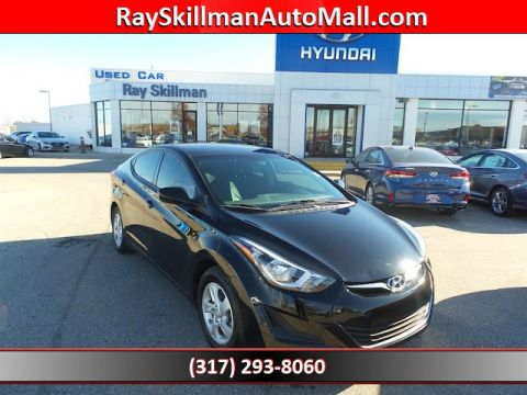 Pre-Owned 2014 Hyundai Elantra SE WITH A/M LEATHER