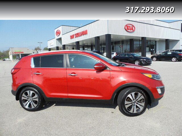 Pre-Owned 2012 Kia Sportage LTHR,ROOF