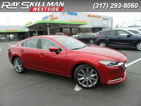 New 2018 Mazda6 4DR SDN SIGNATURE AT